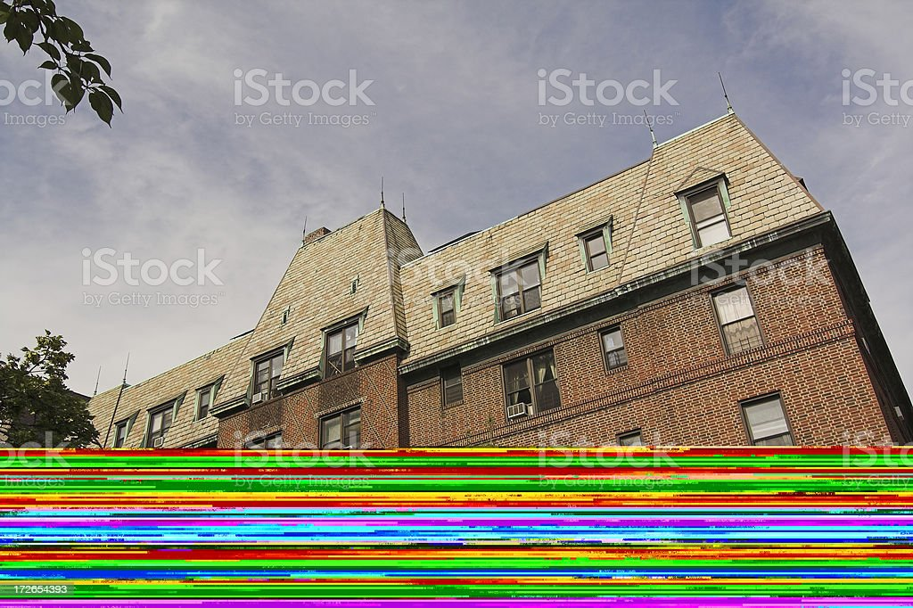 Prime Real Estate in Brooklyn NY royalty-free stock photo