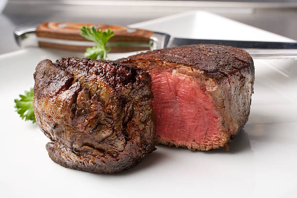 prime rib steak roasted prime rib stock pictures, royalty-free photos & images