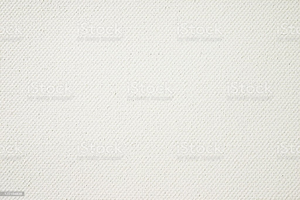 Primed artist's canvas, full frame background texture royalty-free stock photo