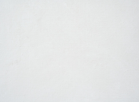 Artist's canvas with white primer