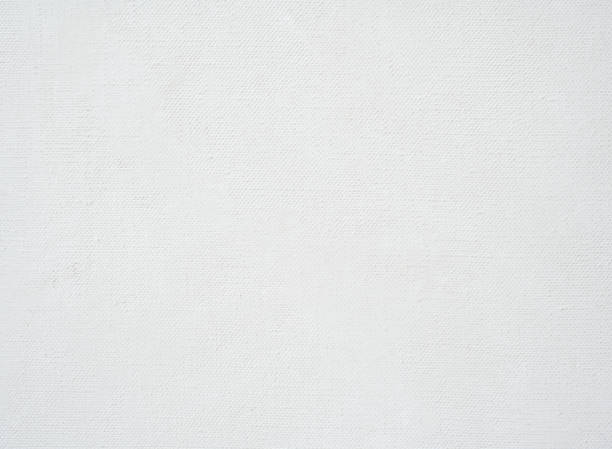 Primed linen canvas for oil painting, Norway stock photo