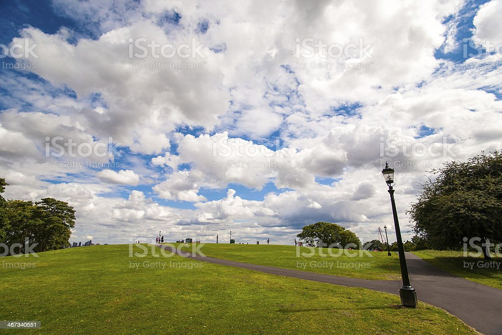 Primrose Hill in London royalty-free stock photo