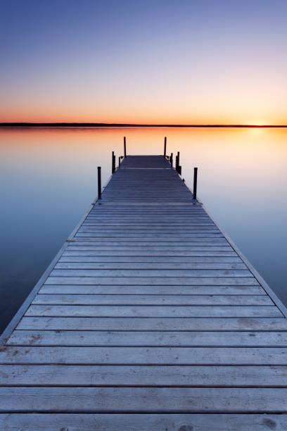 Prince Albert National Park Saskatchewan Canada stock photo