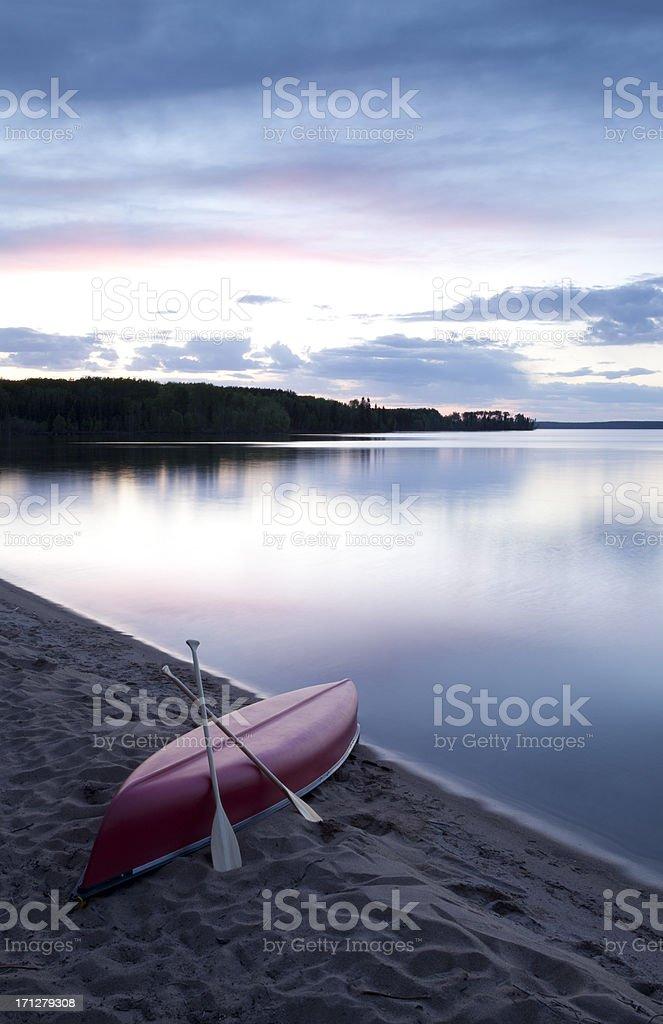 Prince Albert National Park Saskatchewan royalty-free stock photo