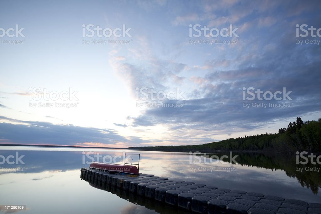 Prince Albert National Park Saskatchewan royalty-free stock photo