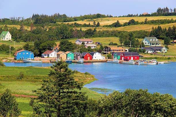 prince edward island - prince edward island stock photos and pictures