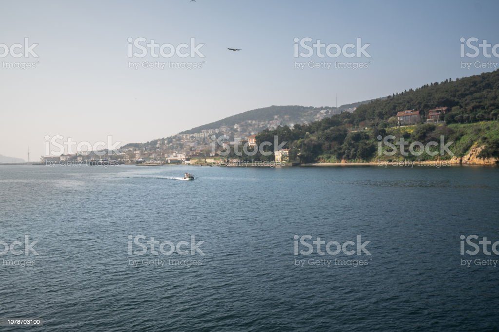 Prince Islands in Marmara sea,Turkey stock photo