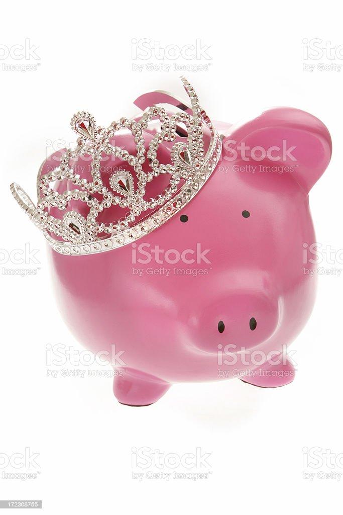 Prince of Savings royalty-free stock photo