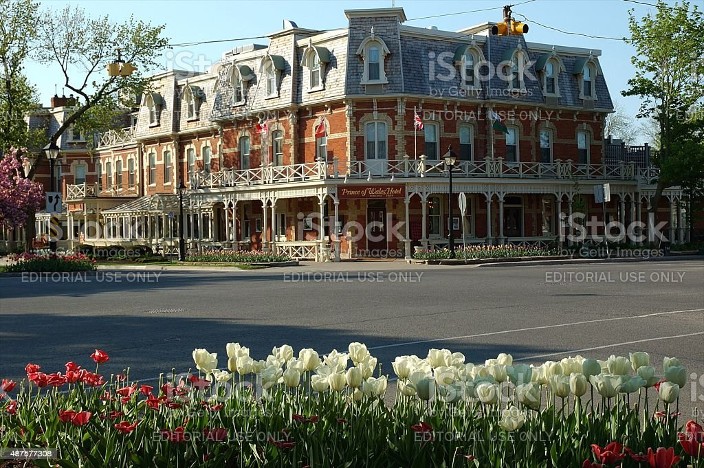 Prince of Wales Hotel, Niagara on the Lake stock photo