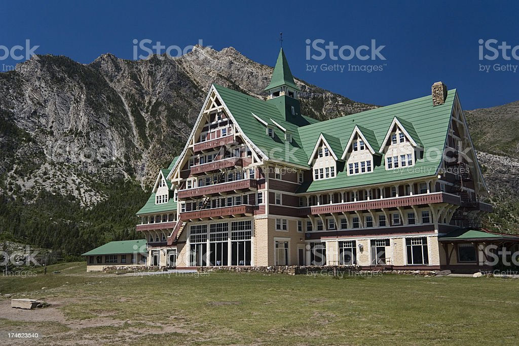 Prince of Wales Hotel royalty-free stock photo