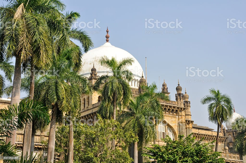 Prince of Wales Museum in Mumbai, India stock photo