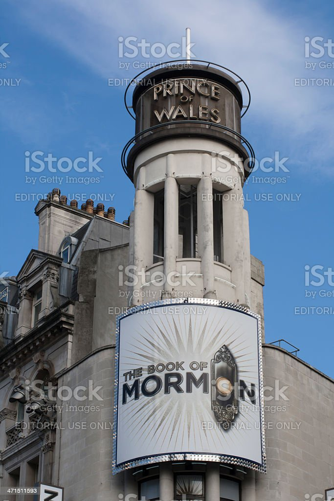 Prince of Wales Theatre stock photo