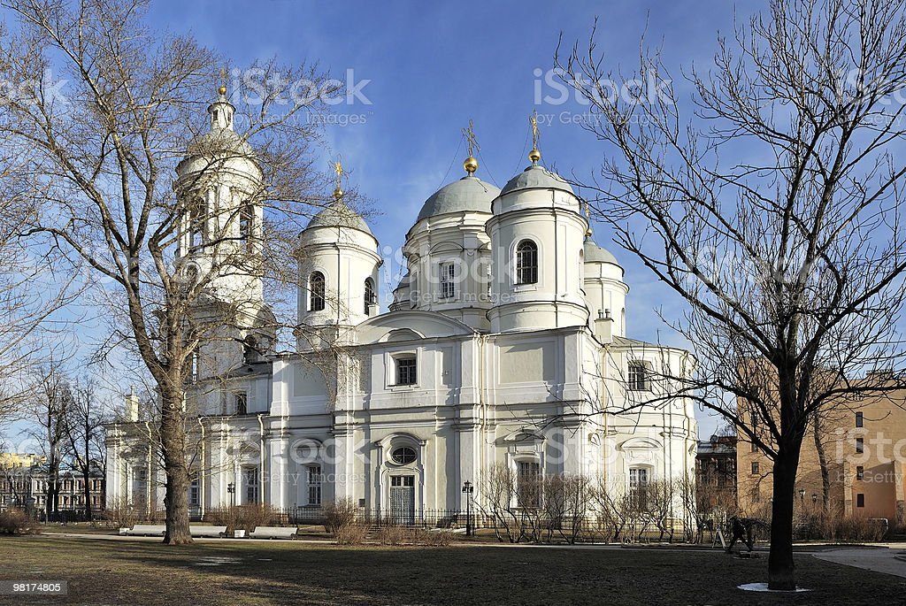 Prince Vladimir Cathedral royalty-free stock photo