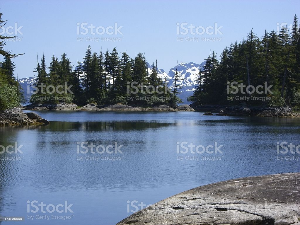 Prince William Sound stock photo