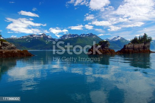 Prince William Sound is a sound of the Gulf of Alaska on the south coast of the U.S. state of Alaska. It is located on the east side of the Kenai Peninsula. Its largest port is Valdez.