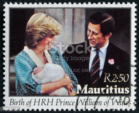 istock Prince William's Birth Stamp 458937187