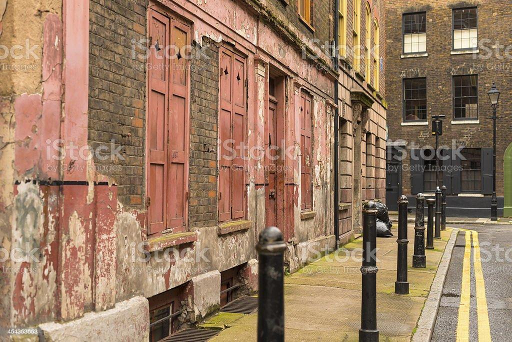 Princelet street stock photo