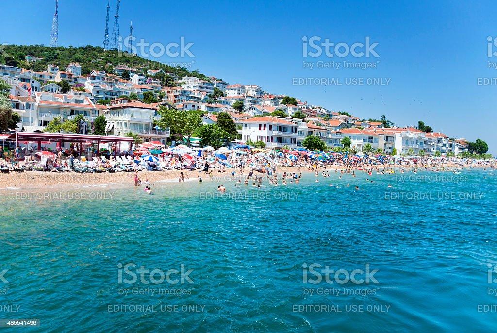 Princes' Islands, Istanbul stock photo