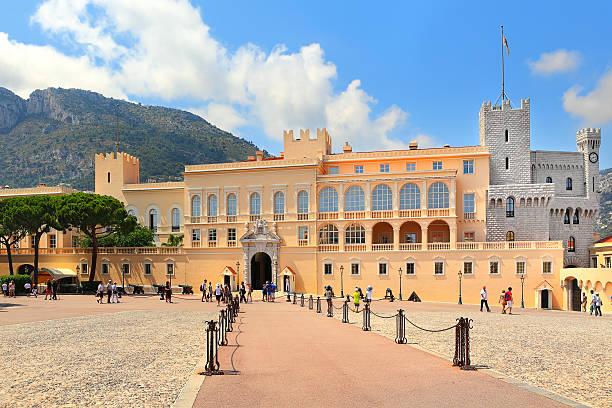 Prince's Palace of Monaco. stock photo