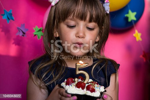 istock Princess birthday party. Make a wish concept. Anniversary, happiness, carefree childhood. 1045343022