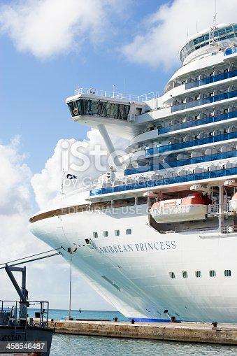 istock Princess Cruise Ship in Aruba 458546487