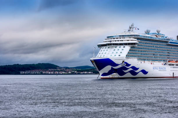 Princess Cruise Ship in the Firth of Forth, Scotland