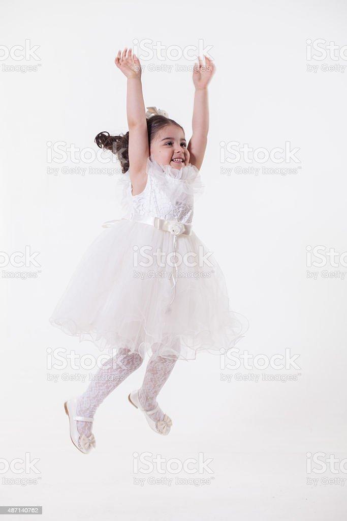 Princess girl stock photo