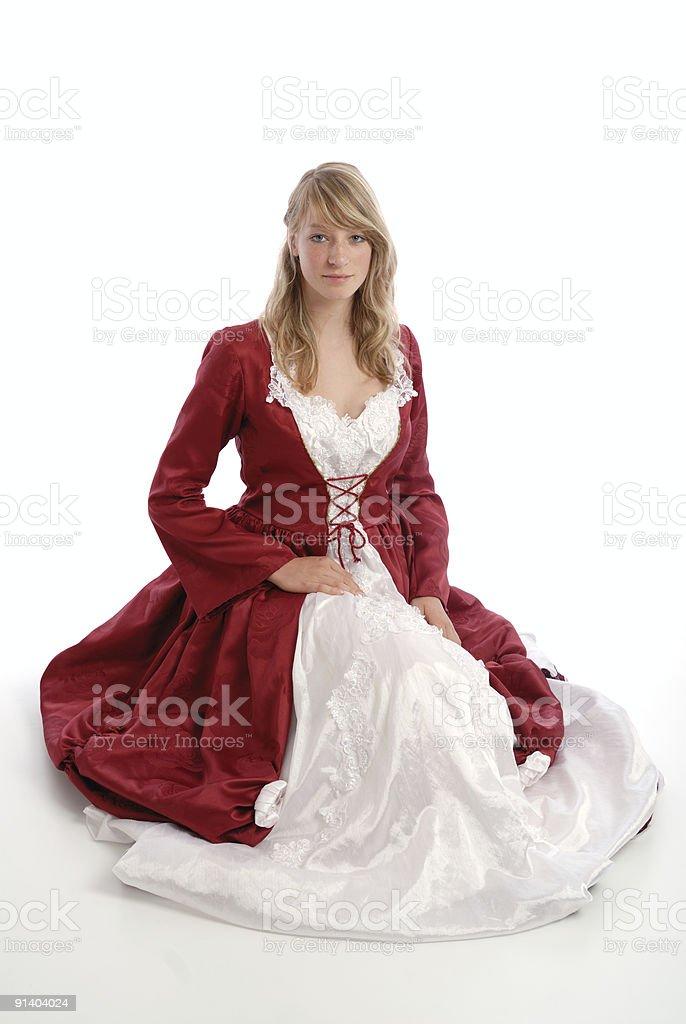 Princess girl royalty-free stock photo