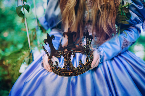 578573556 istock photo Princess in magic forest 589582116