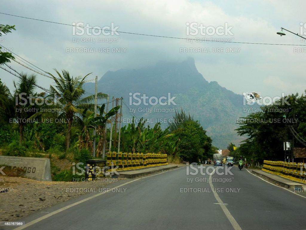 Princess Mountain, East Java Indonesia royalty-free stock photo