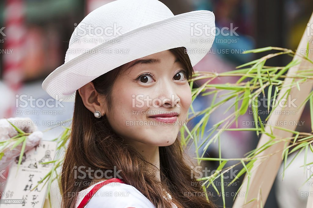 Princess 'Orihime' royalty-free stock photo