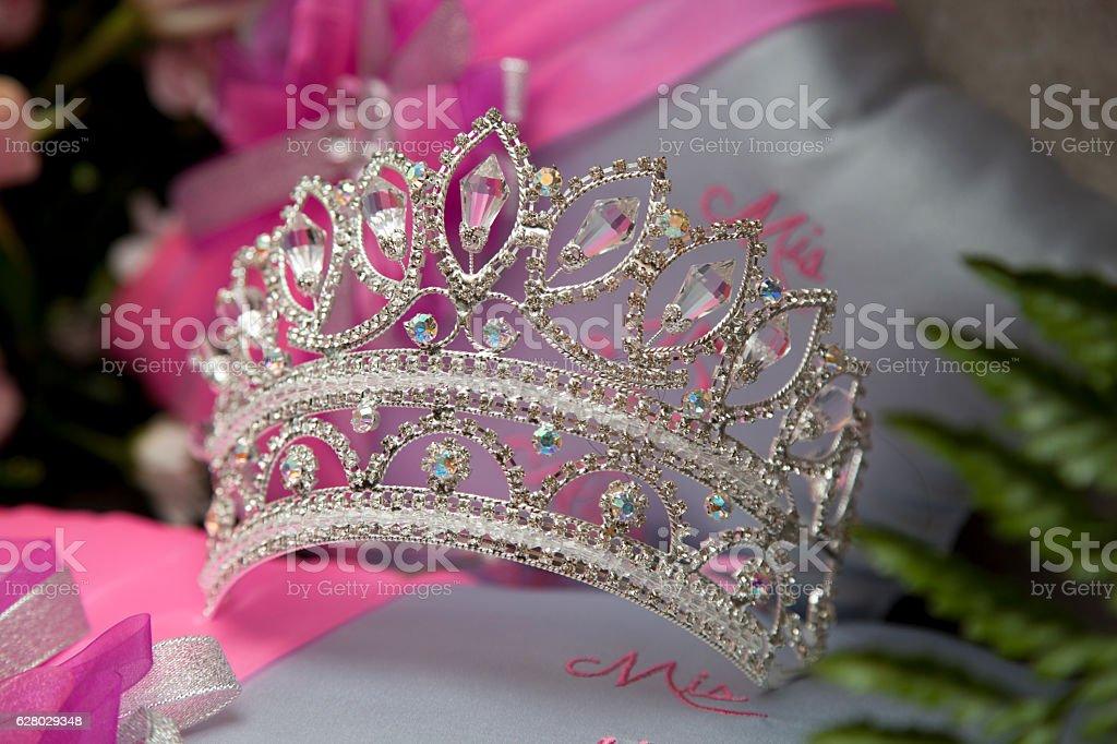 Princess quinceañera crown - foto stock