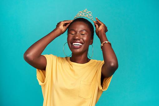istock Princess? Try queen 1170298892