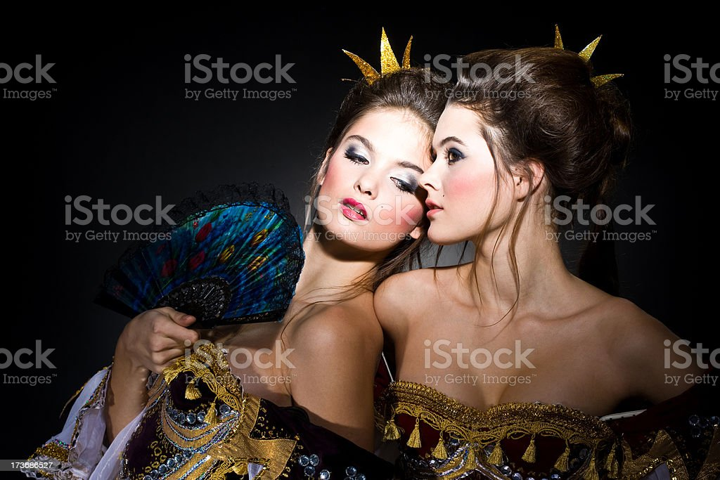 Princesses royalty-free stock photo