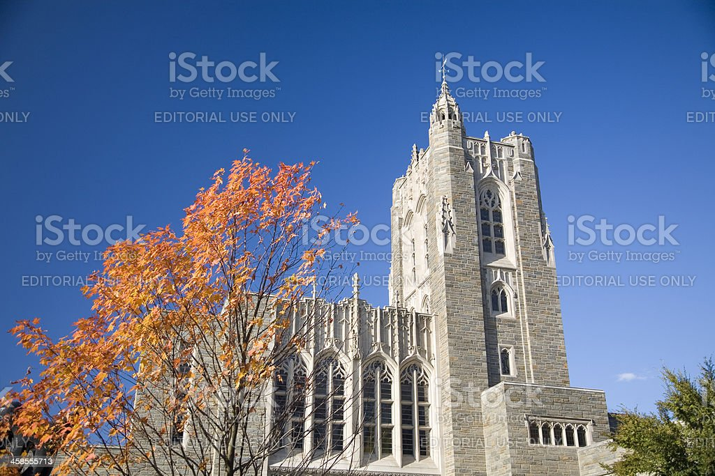 Princeton University Library stock photo