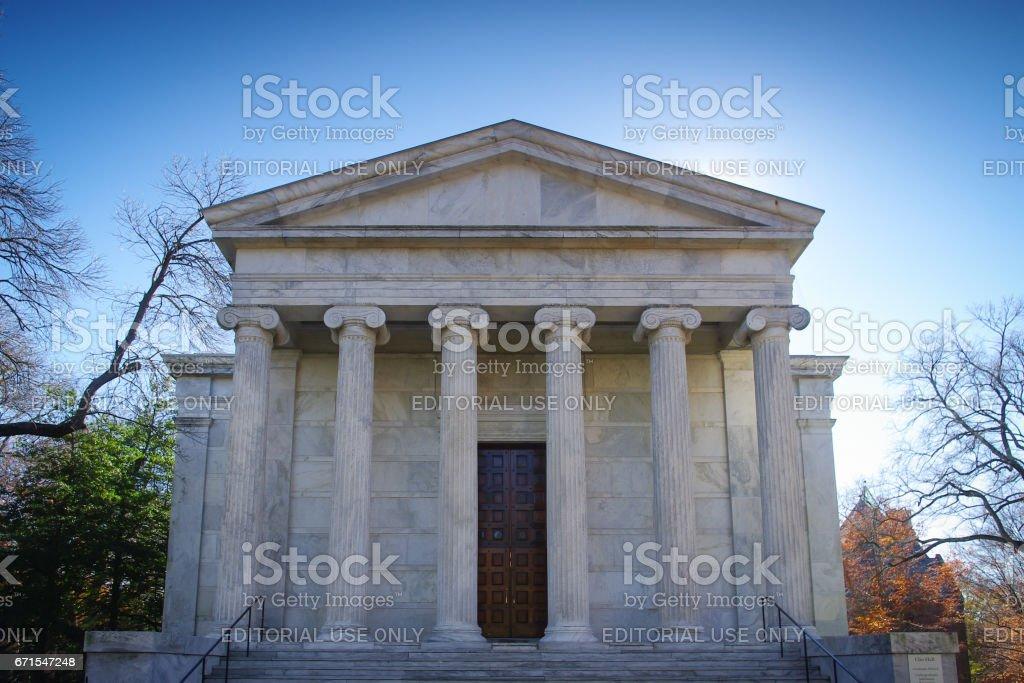 Princeton University's Whig Hall stock photo