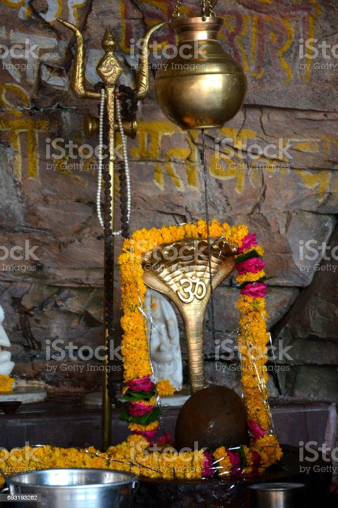 SHIVA principal deities of Hinduism stock photo