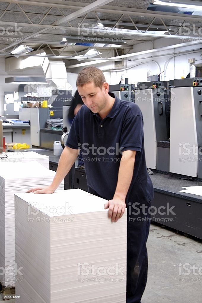 Print Room... royalty-free stock photo