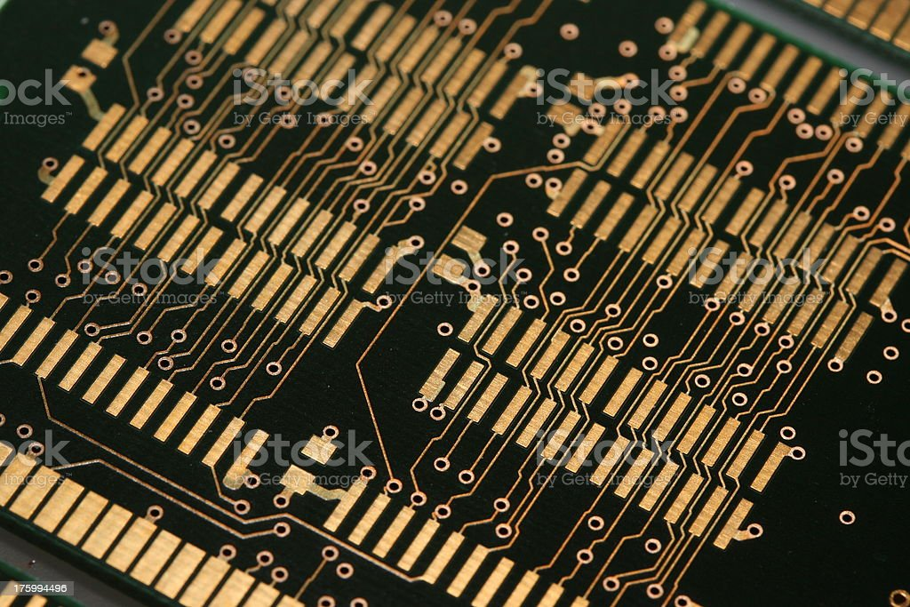 PCB Printed Circuit Board 3 stock photo
