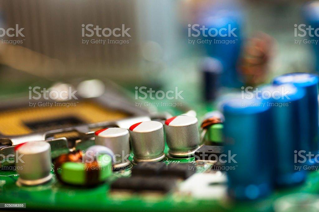 printed circuit board stock photo