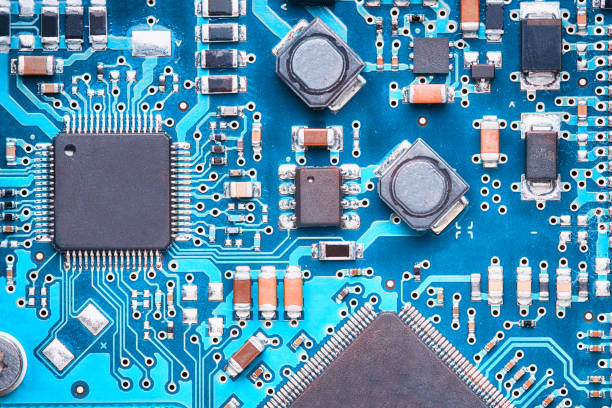 printed circuit board - mother board stock photos and pictures