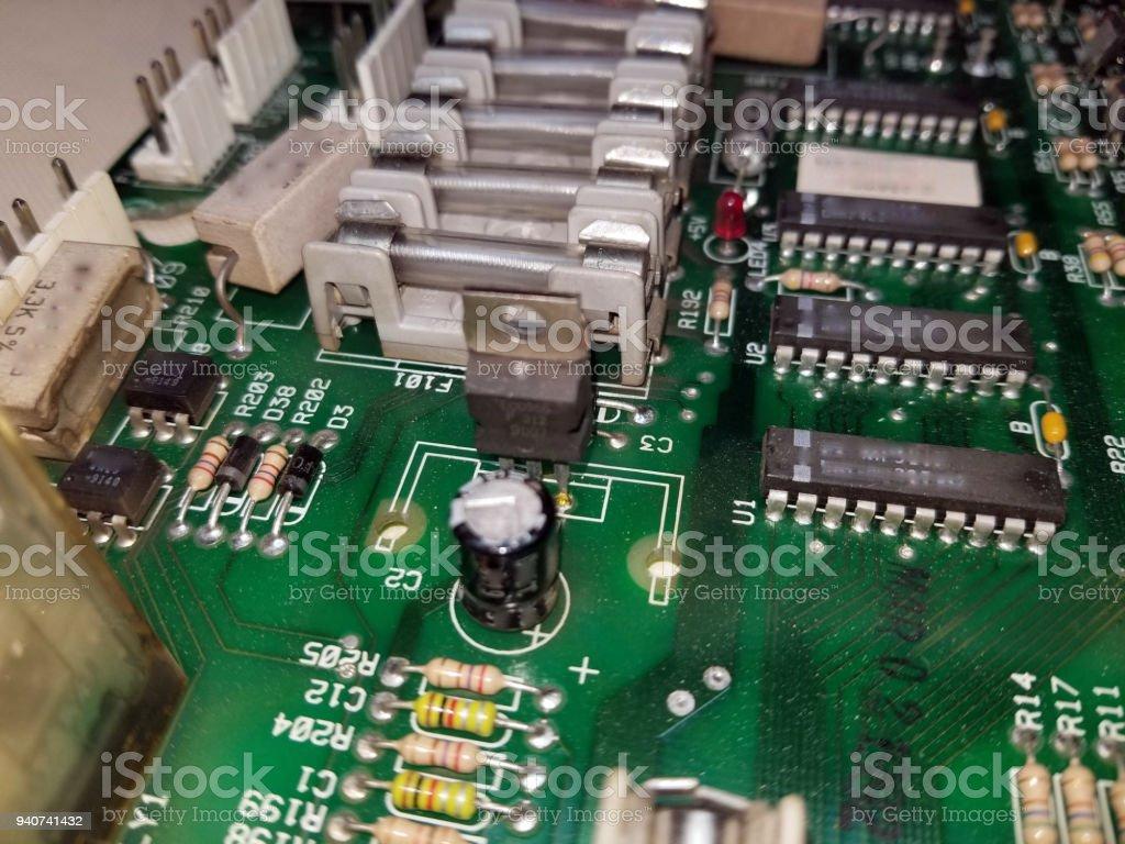 Foto De Placa De Circuito Impresso E Mais Fotos De Stock De