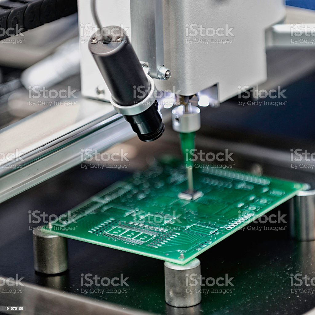 printed circuit board production stock photo \u0026 more pictures of
