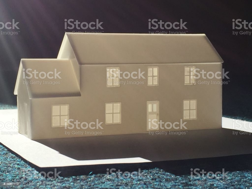 3D Printed Models stock photo