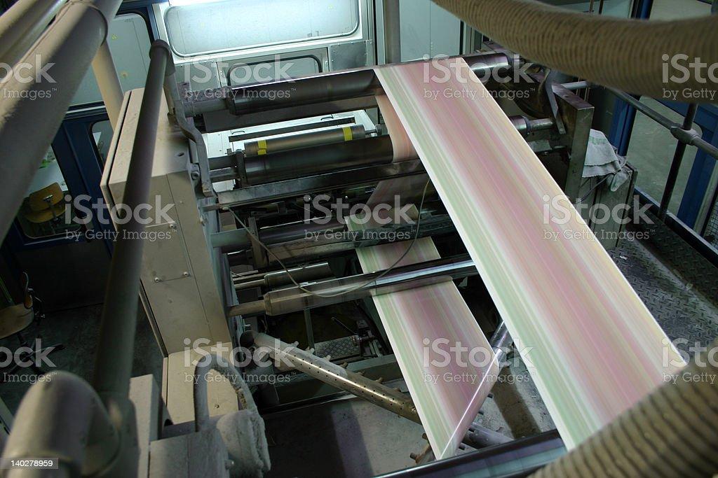 Printed Paper stock photo