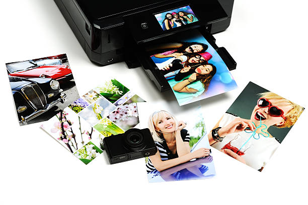 printed photos printer, camera and printed photos photography stock pictures, royalty-free photos & images
