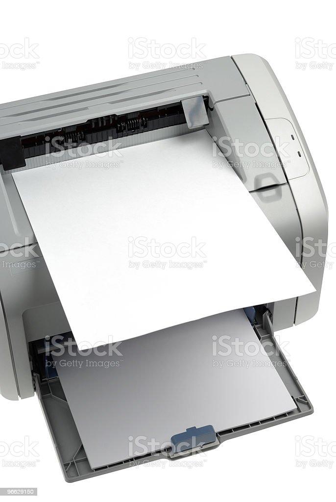 Printed! stock photo