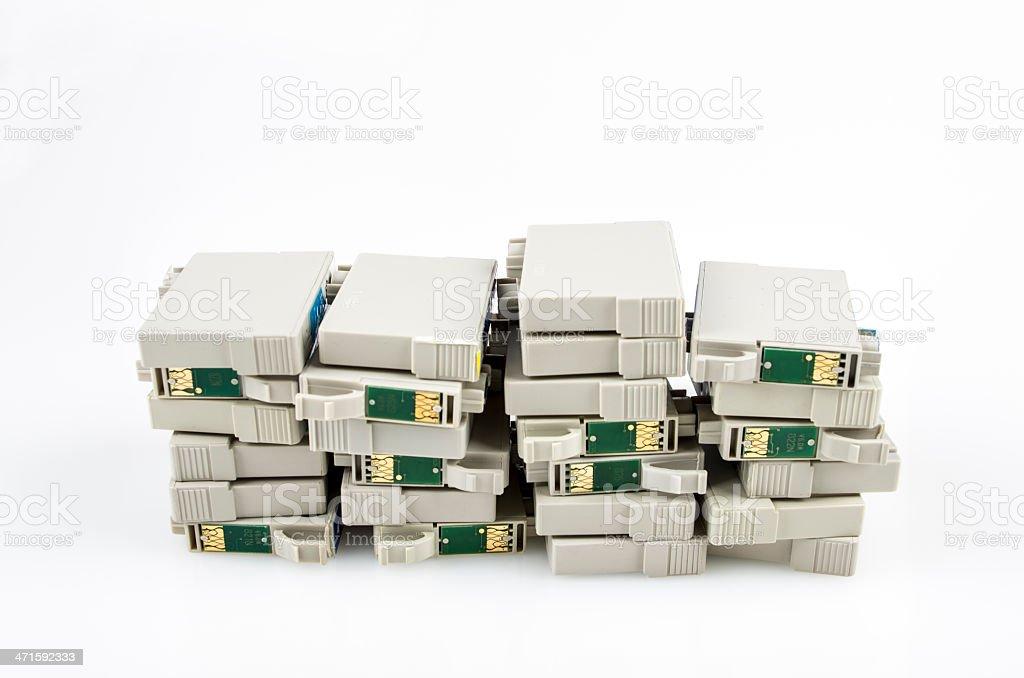 Printer cartridge royalty-free stock photo