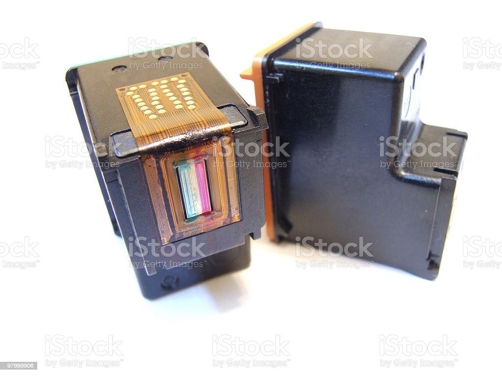 Cartucho de impressora foto royalty-free
