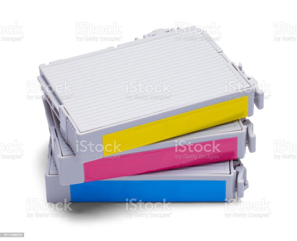 Printer Cartridges stock photo